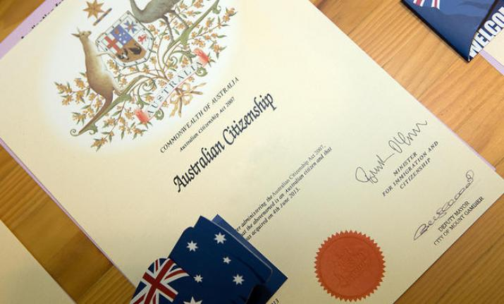 Australia. Citizenship